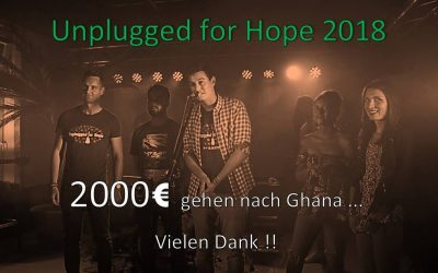 Unplugged for Hope