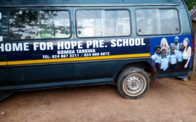 The new design of our schoolbus