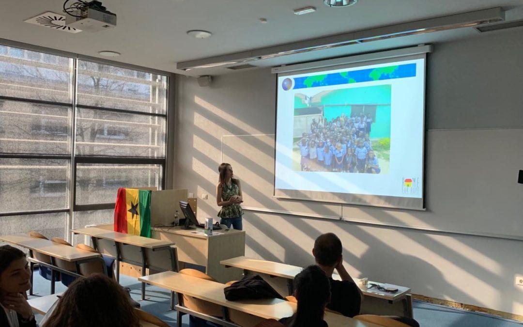 Presentation at the university of Ljubljana